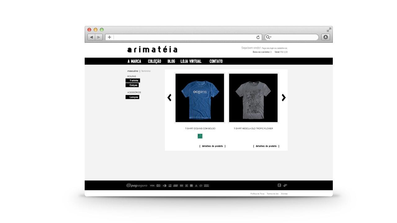 Arimateia – Ecommerce