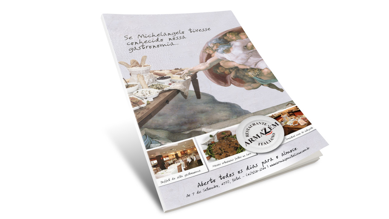 Armazém Italiano Restaurant – Advertising Campaign
