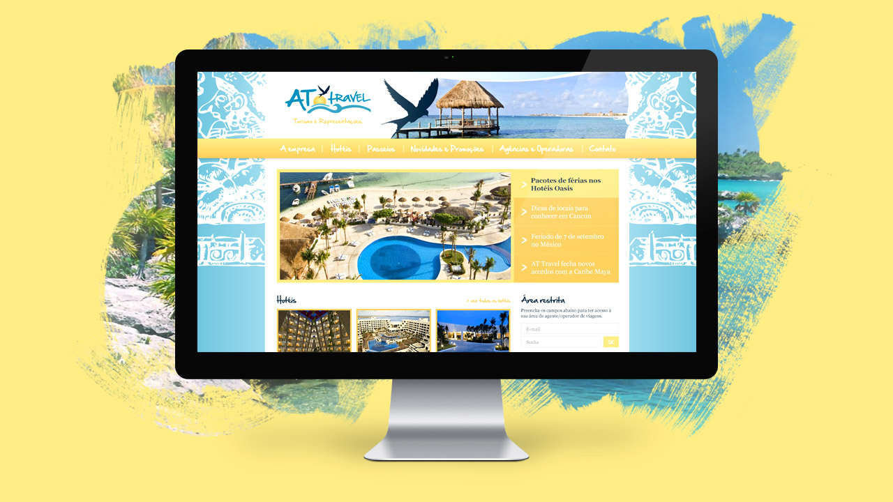 At Travel – Website and Sales System