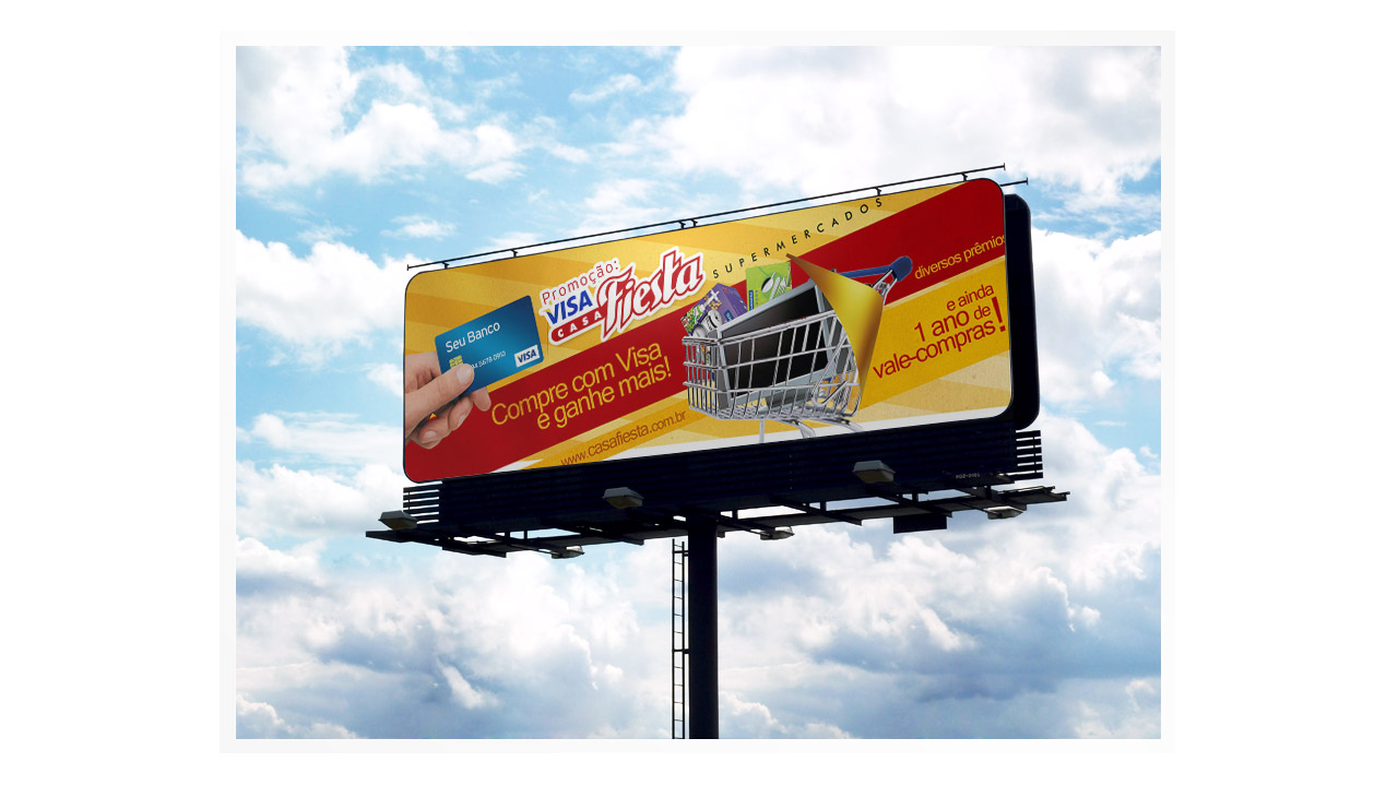 Casa Fiesta Supermarket – Advertising Campaign