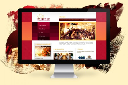 Exigence Events – Website and Subscription System