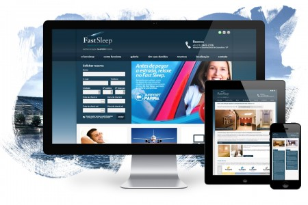 Fast Sleep – Website and Booking System
