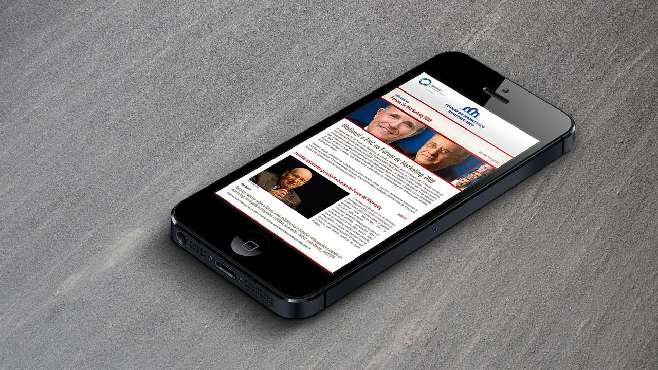 Fórum de Marketing – Online Campaign