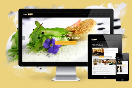 Gala Gourmet Gastronomic Event – Website