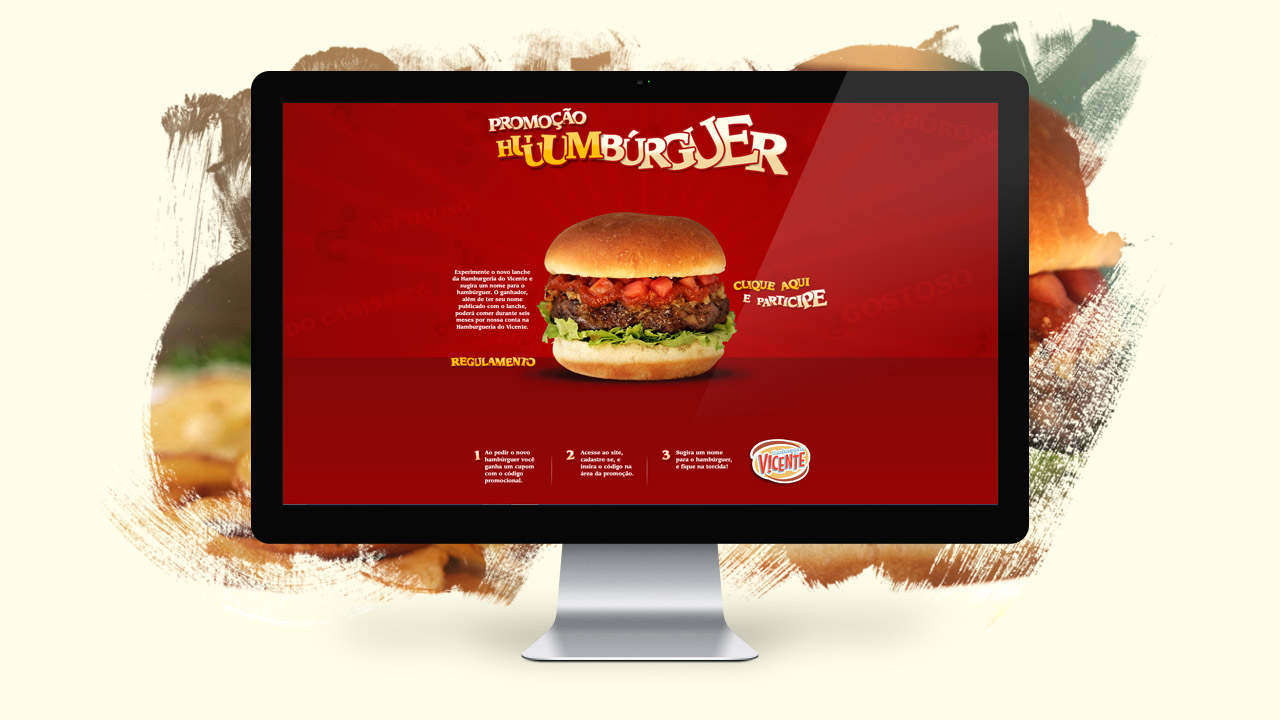 Hamburgueria do Vicente – Advertising Campaign