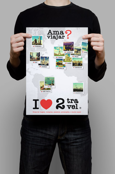 I Love to Travel Blog – Visual Identity