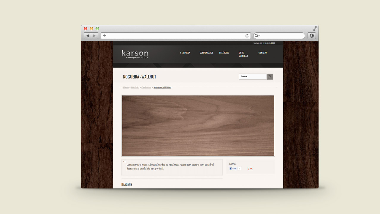 Karson Hardboard – Website