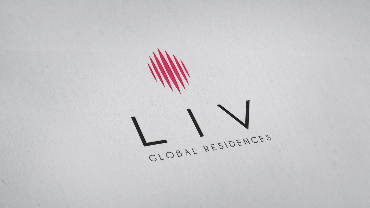 LIV Global Residences – Visual Identity
