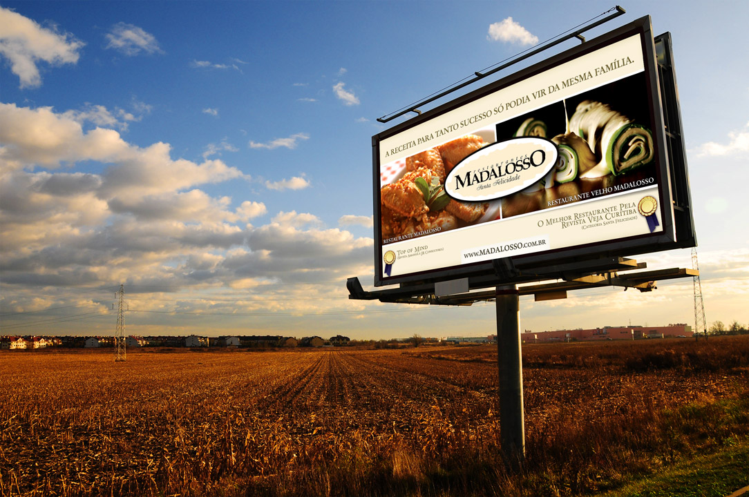 Madalosso Restaurant – Advertising Campaign