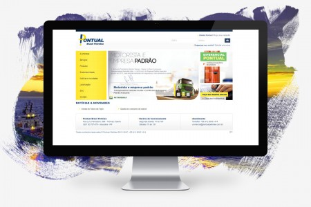 Pontual Petroleum – Website and Online Sales System