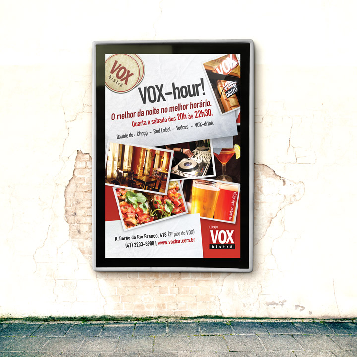 Vox Bar – Advertising Campaign